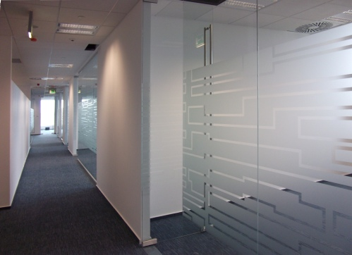 Office Glass Branding Office Glass Frosting Services